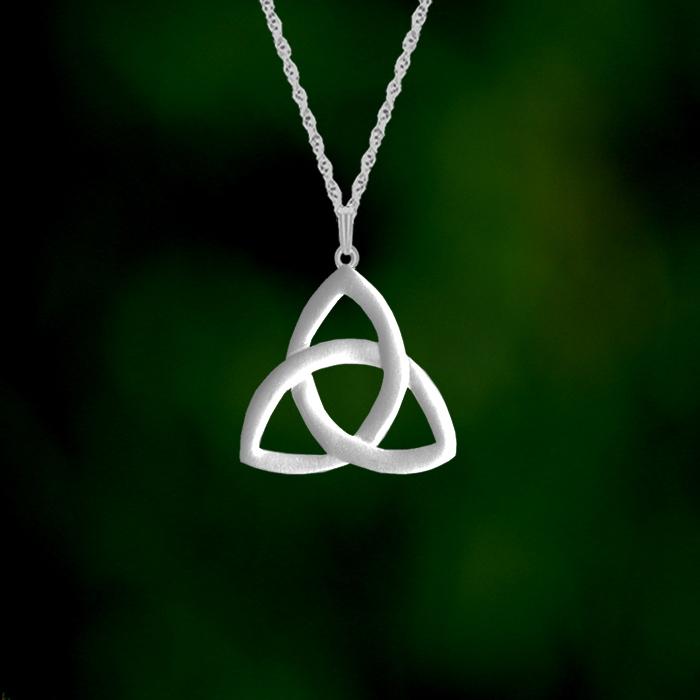 Trinity Celtic Knot Small Pendant Lovell Designs Jewelry In Maine